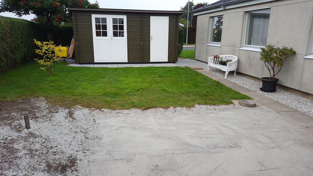 Anlægsgartner i fredericia   forskønnelse af mindre rækkehushave ...