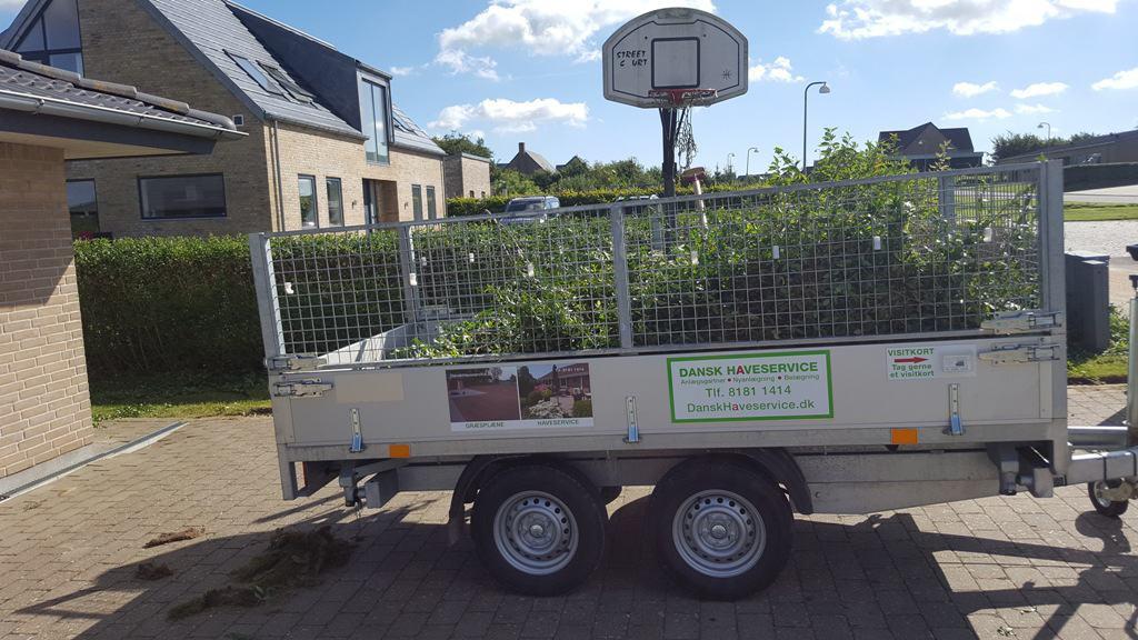 Grundig Haveservice på Enggårdstoften i Bredal mellem Vejle og Horsens