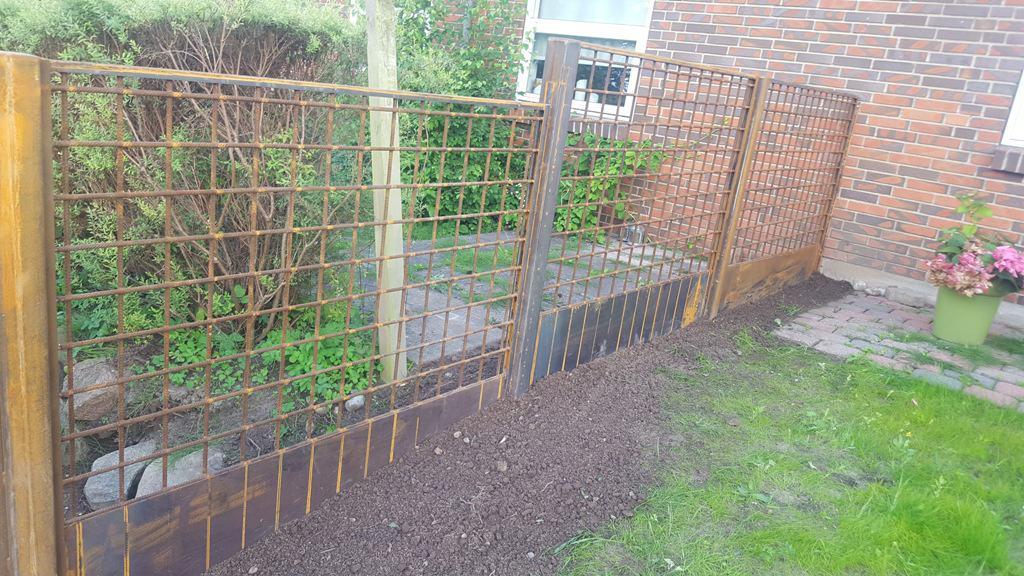 grønt hegn til haven